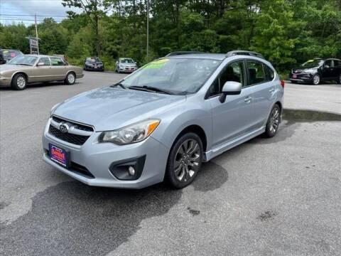 2014 Subaru Impreza for sale at North Berwick Auto Center in Berwick ME