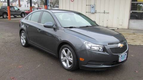 2013 Chevrolet Cruze for sale at D & M Auto Sales in Corvallis OR