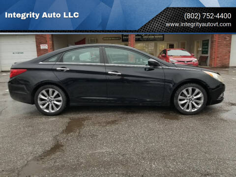 2012 Hyundai Sonata for sale at Integrity Auto LLC - Integrity Auto 2.0 in St. Albans VT