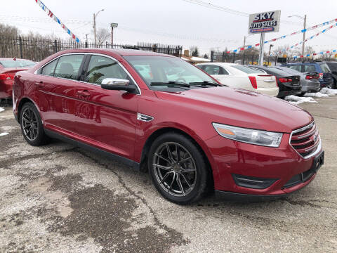 2013 Ford Taurus for sale at SKY AUTO SALES in Detroit MI