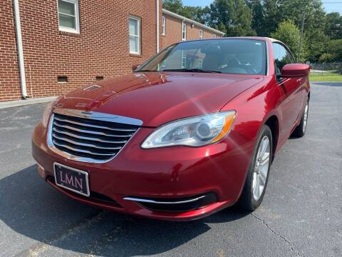 2014 Chrysler 200 Convertible for sale at El Camino Auto Sales in Gainesville GA