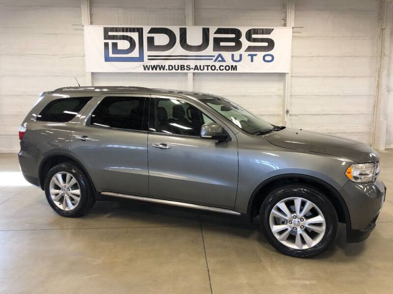 2013 Dodge Durango for sale at DUBS AUTO LLC in Clearfield UT