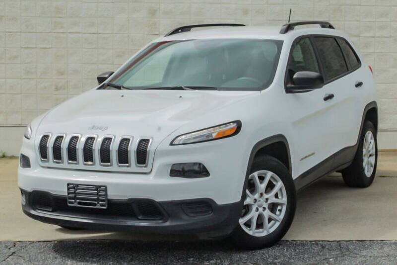 2016 Jeep Cherokee for sale at Cannon and Graves Auto Sales in Newberry SC
