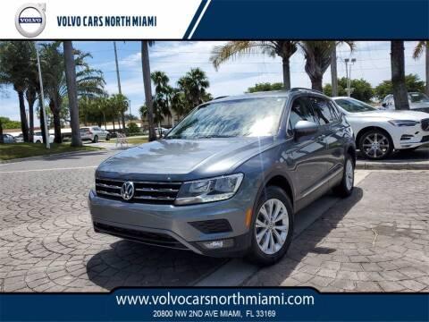 2018 Volkswagen Tiguan for sale at Volvo Cars North Miami in Miami FL