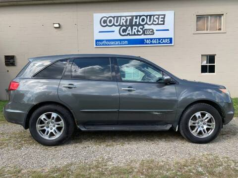 2007 Acura MDX for sale at Court House Cars, LLC in Chillicothe OH
