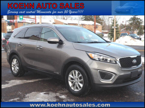 2016 Kia Sorento for sale at Koehn Auto Sales in Lindstrom MN