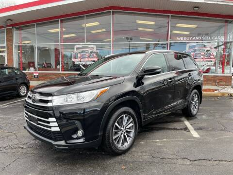 2018 Toyota Highlander for sale at USA Motor Sport inc in Marlborough MA