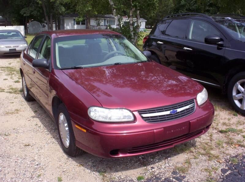 2003 Chevrolet Malibu for sale at LAKESIDE MOTORS LLC in Houghton Lake MI