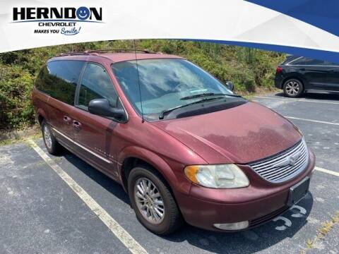 2001 Chrysler Town and Country for sale at Herndon Chevrolet in Lexington SC