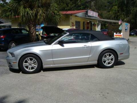 2014 Ford Mustang for sale at VANS CARS AND TRUCKS in Brooksville FL