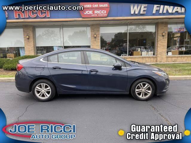 2016 Chevrolet Cruze for sale at JOE RICCI AUTOMOTIVE in Clinton Township MI