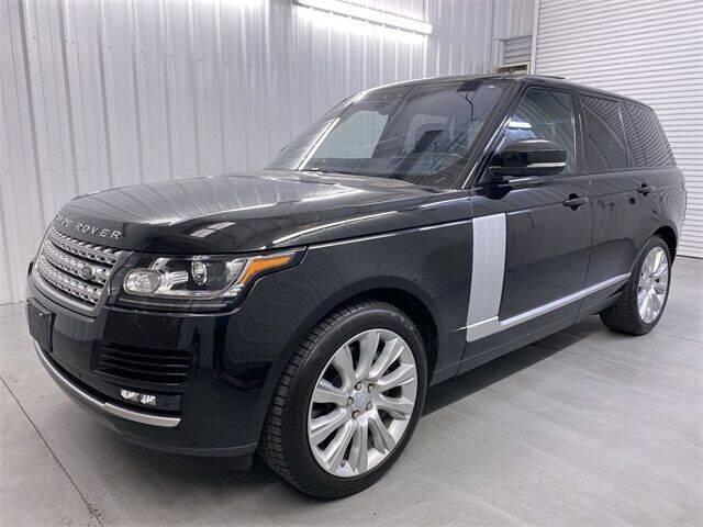 2017 Land Rover Range Rover for sale at JOE BULLARD USED CARS in Mobile AL