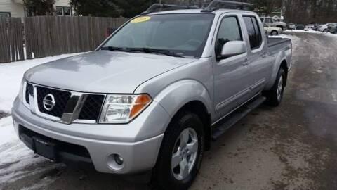 2008 Nissan Frontier for sale at ALL Motor Cars LTD in Tillson NY