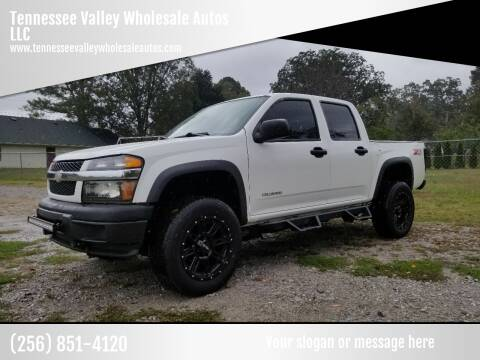 2005 Chevrolet Colorado for sale at Tennessee Valley Wholesale Autos LLC in Huntsville AL