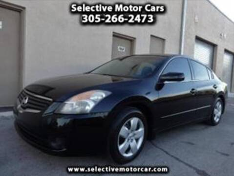 2007 Nissan Altima for sale at Selective Motor Cars in Miami FL