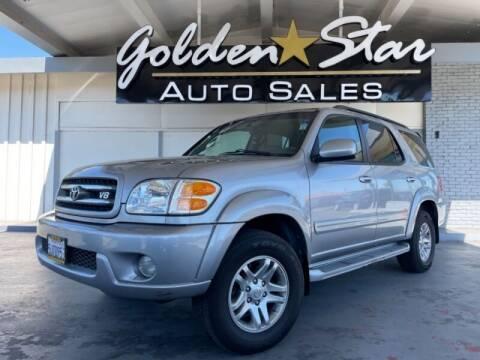 2004 Toyota Sequoia for sale at Golden Star Auto Sales in Sacramento CA