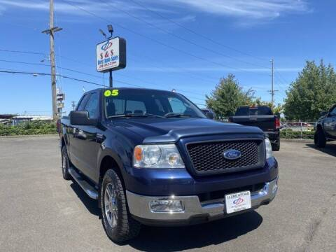 2005 Ford F-150 for sale at S&S Best Auto Sales LLC in Auburn WA