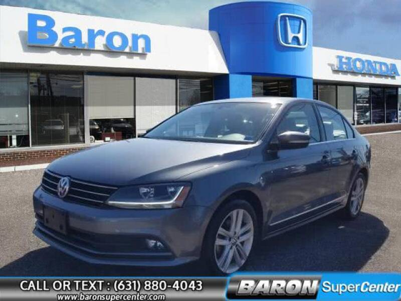 2017 Volkswagen Jetta for sale at Baron Super Center in Patchogue NY
