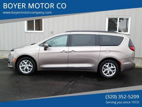 2017 Chrysler Pacifica for sale at BOYER MOTOR CO in Sauk Centre MN