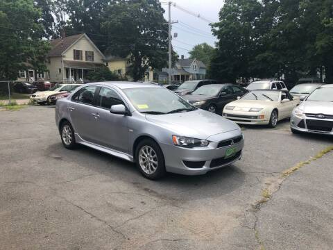 2014 Mitsubishi Lancer for sale at Emory Street Auto Sales and Service in Attleboro MA