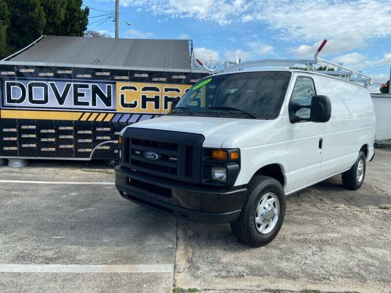 2013 Ford E-Series Cargo for sale at DOVENCARS CORP in Orlando FL