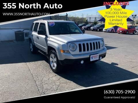 2013 Jeep Patriot for sale at 355 North Auto in Lombard IL