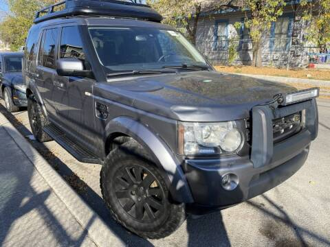 2011 Land Rover LR4 for sale at Carzready in San Antonio TX