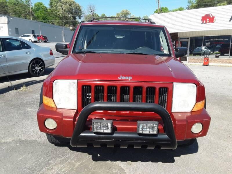 2006 Jeep Commander for sale at Auto Villa in Danville VA