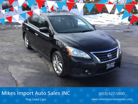 2014 Nissan Sentra for sale at Mikes Import Auto Sales INC in Hooksett NH