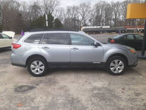 2012 Subaru Outback for sale at PIRATE AUTO SALES in Greenville NC