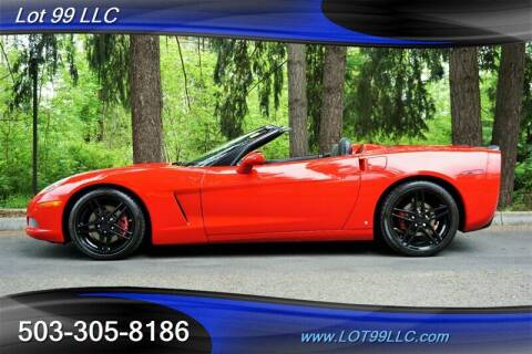 2006 Chevrolet Corvette for sale at LOT 99 LLC in Milwaukie OR