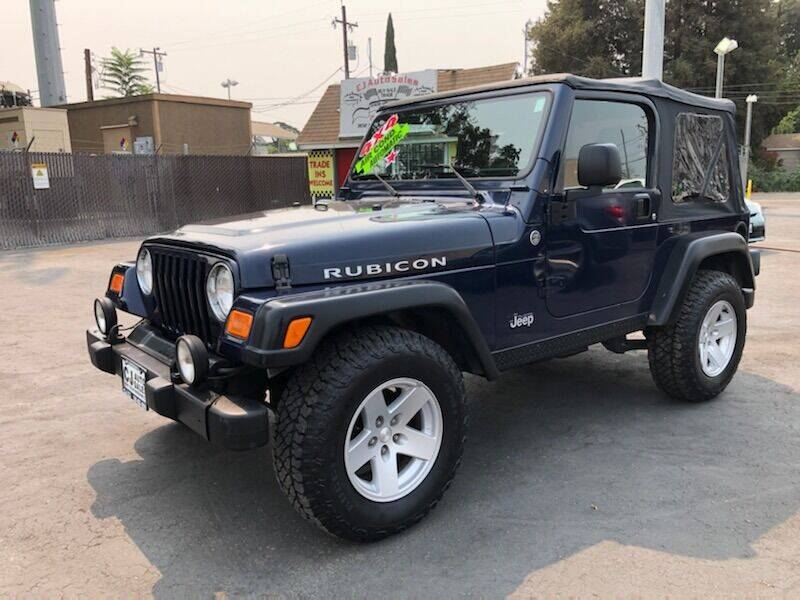 2006 Jeep Wrangler for sale at C J Auto Sales in Riverbank CA
