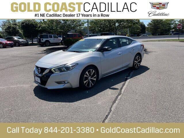 2017 Nissan Maxima for sale at Gold Coast Cadillac in Oakhurst NJ