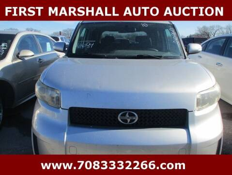 2010 Scion xB for sale at First Marshall Auto Auction in Harvey IL