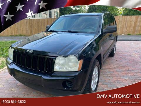 2006 Jeep Grand Cherokee for sale at DMV Automotive in Falls Church VA