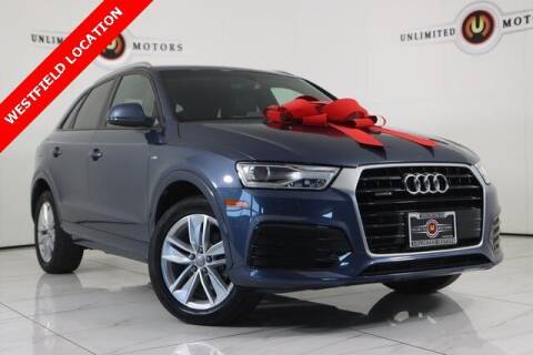 2018 Audi Q3 for sale at INDY'S UNLIMITED MOTORS - UNLIMITED MOTORS in Westfield IN