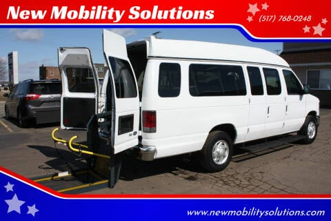 2012 Ford E-Series Wagon for sale at New Mobility Solutions in Jackson MI