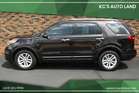 2013 Ford Explorer for sale at KC'S Auto Land in Kalamazoo MI