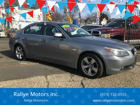 2005 BMW 5 Series for sale at Rallye  Motors inc. in Newark NJ