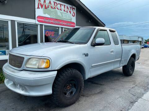 1999 Ford F-150 for sale at Martins Auto Sales in Shelbyville KY