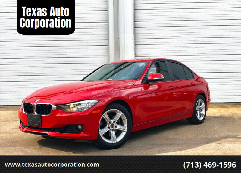 2012 BMW 3 Series for sale at Texas Auto Corporation in Houston TX