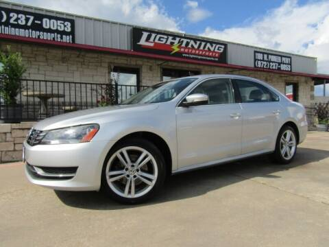 2014 Volkswagen Passat for sale at Lightning Motorsports in Grand Prairie TX