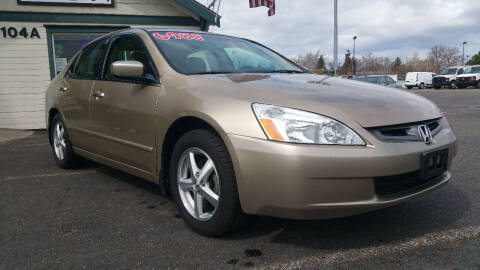 2005 Honda Accord for sale at Tri Cities Auto Remarketing in Kennewick WA