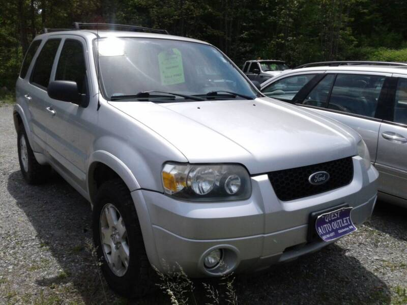 2007 Ford Escape for sale at Quest Auto Outlet in Chichester NH