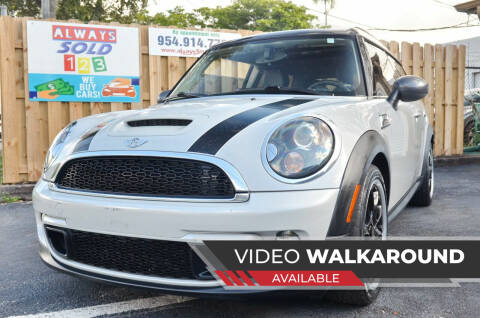 2012 MINI Cooper Clubman for sale at ALWAYSSOLD123 INC in Fort Lauderdale FL