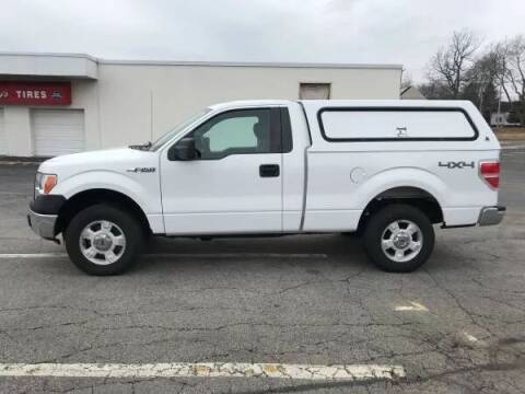 2014 Ford F-150 for sale at BORGES AUTO CENTER, INC. in Taunton MA