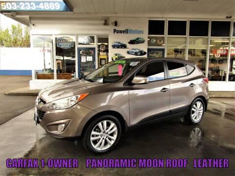 2011 Hyundai Tucson for sale at Powell Motors Inc in Portland OR