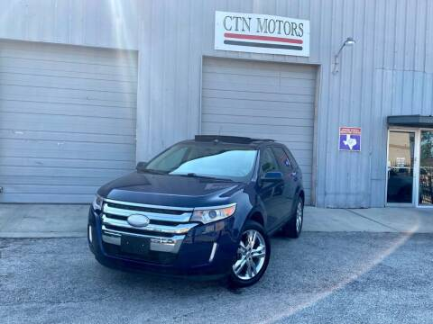 2012 Ford Edge for sale at CTN MOTORS in Houston TX