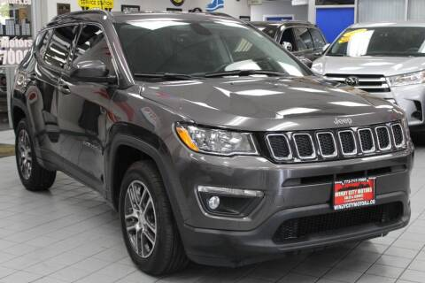 2018 Jeep Compass for sale at Windy City Motors in Chicago IL