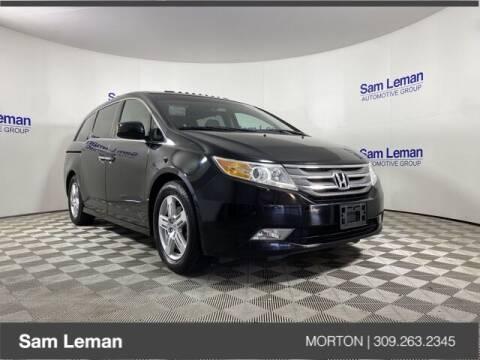 2011 Honda Odyssey for sale at Sam Leman CDJRF Morton in Morton IL